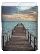 Walk On The Water Duvet Cover