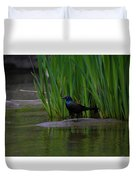Walk This Way Duvet Cover