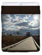 Walk Thru The Marsh Duvet Cover