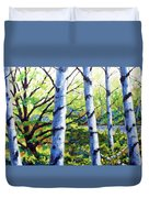 Walk To The Lake Duvet Cover