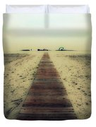 Walk With Me Duvet Cover