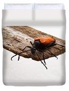 Walking Beetle Duvet Cover