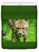 Walking Cheeta Duvet Cover