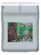 Walking Dead Deadpool Mash-up  Duvet Cover