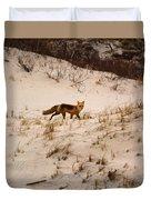Walking Fox Duvet Cover