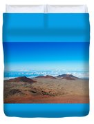 Walking On The Moon Duvet Cover