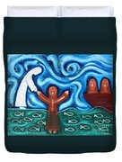 Walking On Water 2 Duvet Cover by Patrick J Murphy