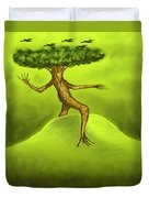Walking Tree  Duvet Cover