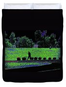 Walking With Purpose Duvet Cover