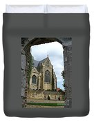 Walkway To Thorn Cathedral Duvet Cover