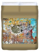 Wall Abstract 196 Duvet Cover