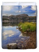 Wall Lake Duvet Cover