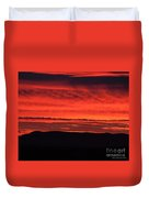 Wall Of Fire Duvet Cover