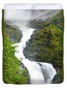 Wallace Falls Duvet Cover