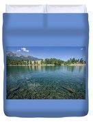 Wallowa Lake No.3 Duvet Cover
