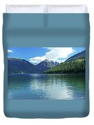 Wallowa Lake Oregon Duvet Cover