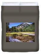 Wallowa Lake Reflections Duvet Cover