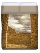 Walls Of Time Duvet Cover