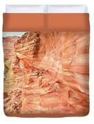 Walls Of Wash 3 In Valley Of Fire Duvet Cover