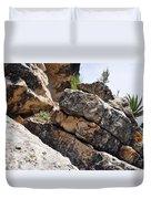 Walnut Canyon Cliffs Duvet Cover