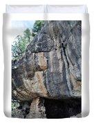 Walnut Canyon National Monument Portrait Duvet Cover