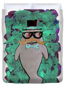 Walrus Brimley - Confused Manatee? Duvet Cover
