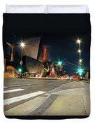 Walt Disney Concert Hall - Los Angeles Art Duvet Cover