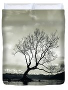 Wanaka Tree - New Zealand  Duvet Cover