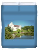 Wanas Castle Duck Pond Duvet Cover
