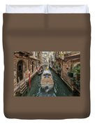 Wandering The Beautiful Venice Canals Duvet Cover