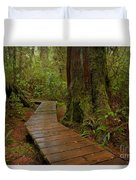 Wandering Through The Rainforest Duvet Cover