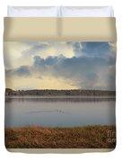 Wando River Landscape Duvet Cover
