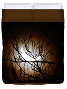 Waning Crescent Moon 2 Duvet Cover