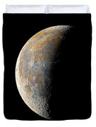 Waning Crescent Moon / Day 23 Duvet Cover