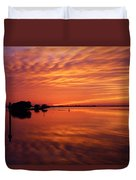 Waning West Duvet Cover