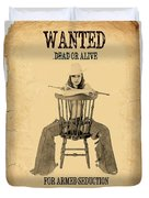 Wanted Alive Duvet Cover