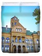 Wapakoneta Ohio Court House Duvet Cover