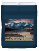 Wapiti Heaven Duvet Cover