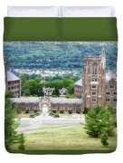 War Memorial Lyon Hall Cornell University Ithaca New York 01 Duvet Cover