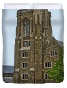 War Memorial Lyon Hall Cornell University Ithaca New York 03 Duvet Cover