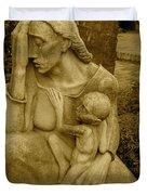 War Mother By Charles Umlauf Duvet Cover