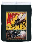 War Of The Worlds, 1927 Duvet Cover