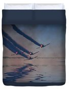 Warbirds On Mission Duvet Cover
