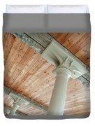 Warehouse Columns Duvet Cover