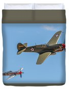 Warhawk And Sea Fury Duvet Cover