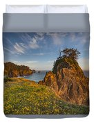 Warm And Peaceful Coast Duvet Cover