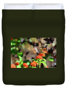Warm Fall Day Duvet Cover