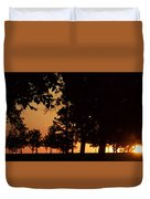 Warm Sunrise Duvet Cover