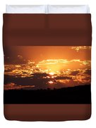 Warm Sunset Duvet Cover