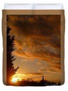 Warm Sunset Duvet Cover